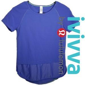 IVIVVA LULULEMON NWOT GIRLS SIZE 14 MESH BOTTOM